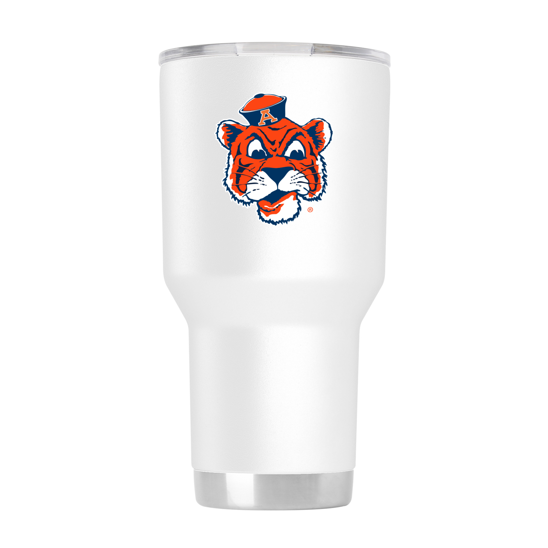 Gametime Sidekicks Auburn 30oz Aubie White Tumbler