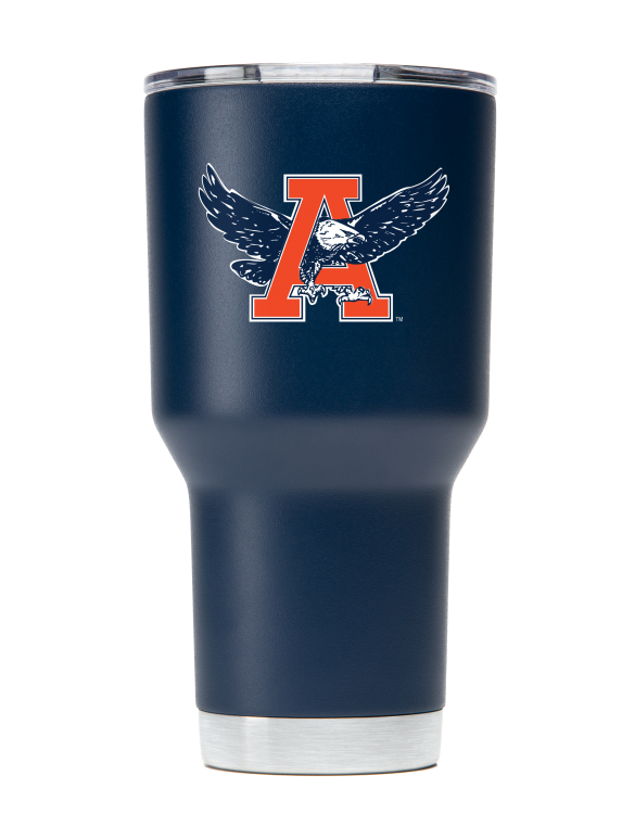 "Auburn Tigers 30 oz ""War Eagle"" Navy Tumbler"