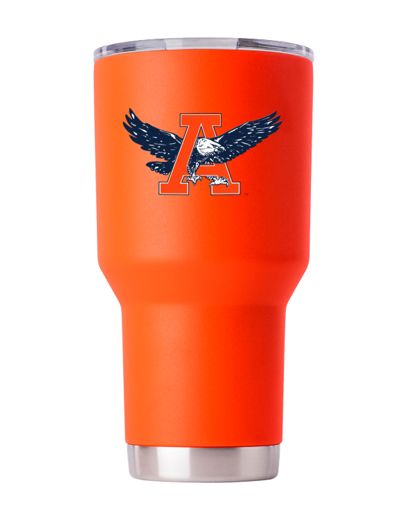 "Auburn Tigers 30 oz Orange ""War Eagle"" Tumbler"