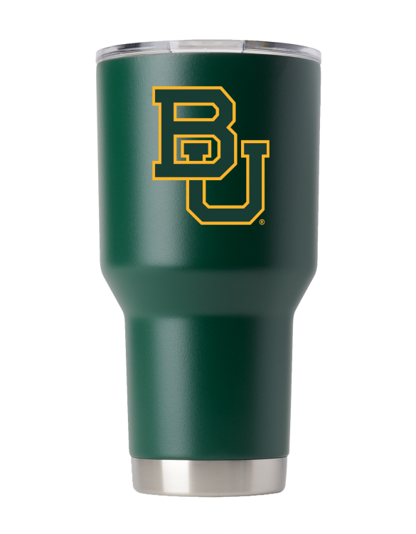 Baylor Bears 30 oz Green Tumbler