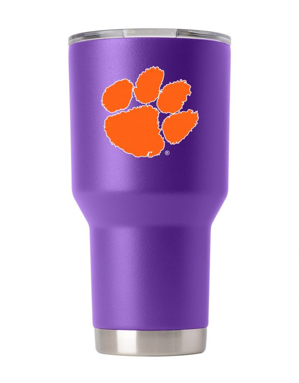 Clemson Tigers 30 oz Purple Tumbler