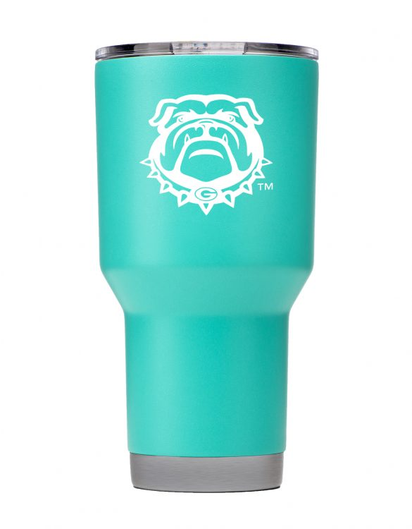 Georgia Bulldogs 30 oz Teal Tumbler