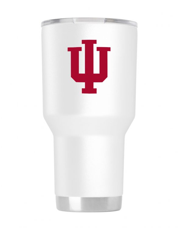 Indiana 30 oz White Tumbler