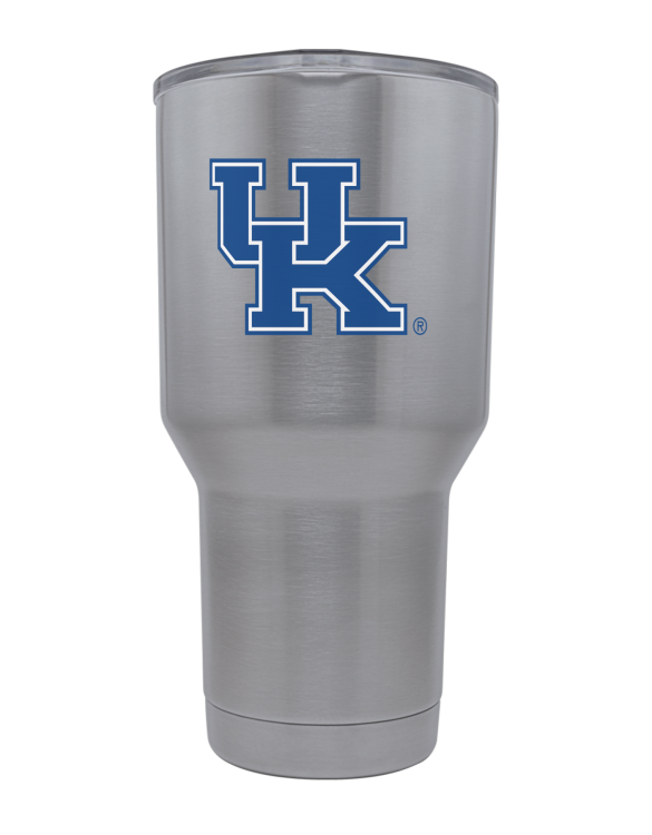 Kentucky 30oz Stainless Steel Powder Coat Tumbler