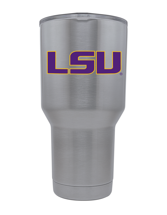 LSU 30oz Stainless Steel Tumbler