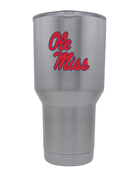 Ole Miss 30 oz Stainless Steel Tumbler