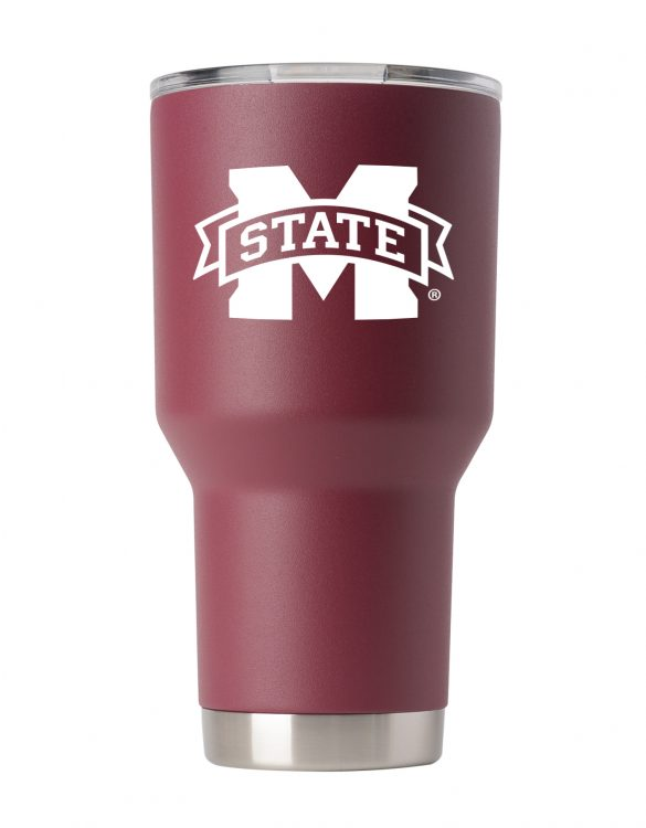 Mississippi State 30 oz Maroon Tumbler