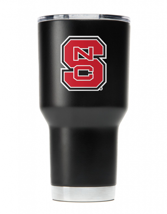 NCST30oz Black Stainless Steel Tumbler