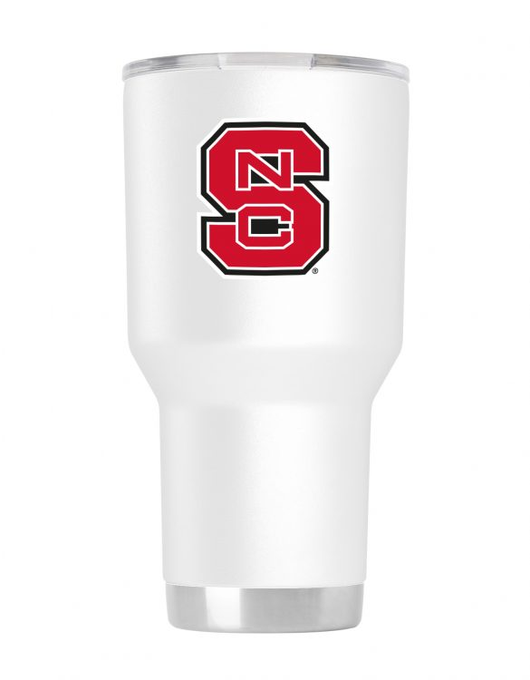 NCST 30oz White Stainless Steel Tumbler