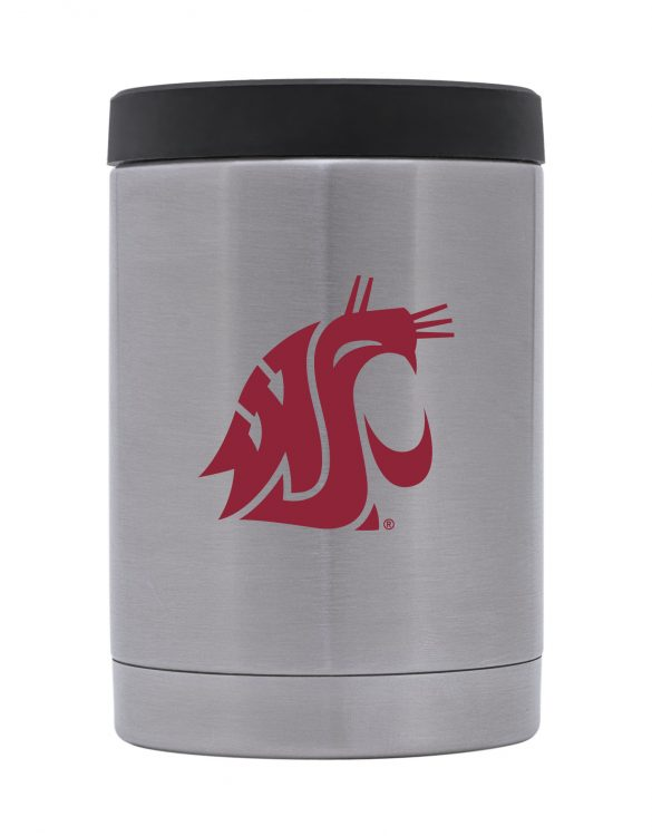 Washington State Stainless Steel Jacket Can/Bottle Holder
