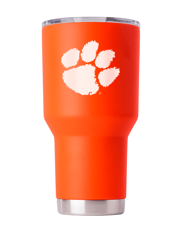Clemson Tigers 30 oz Orange Tumbler