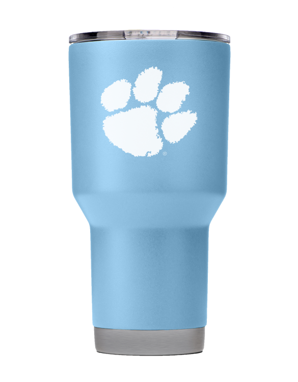 Clemson Tigers 30 oz Seaside Blue Tumbler