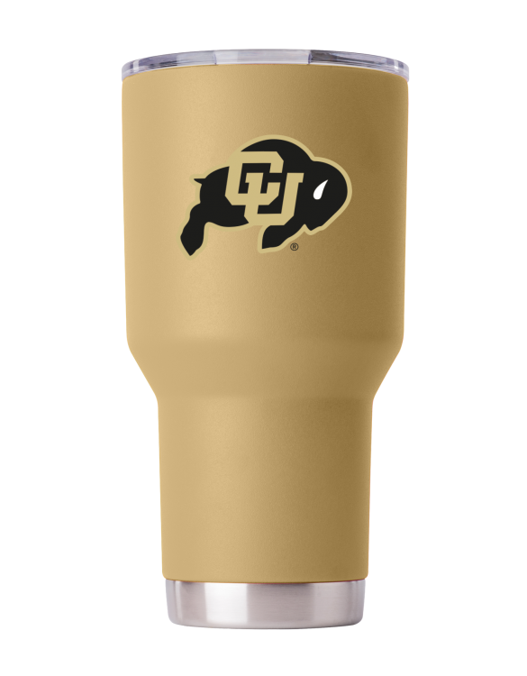 Colorado Buffaloes 30 oz Gold Tumbler