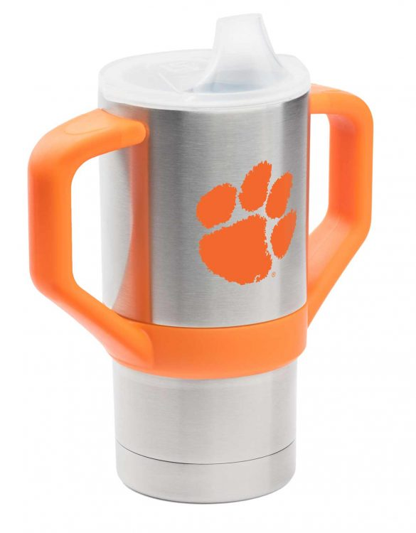 Clemson University 8oz Sippy Cup Tumbler - Gametime Sidekicks