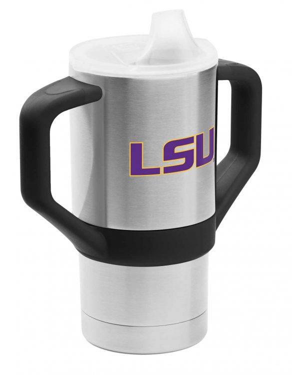 LSU 8oz Sippy Cup Tumbler - Gametime Sidekicks