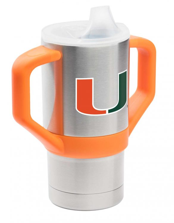 Miami University 8oz Sippy Cup Tumbler - Gametime Sidekicks