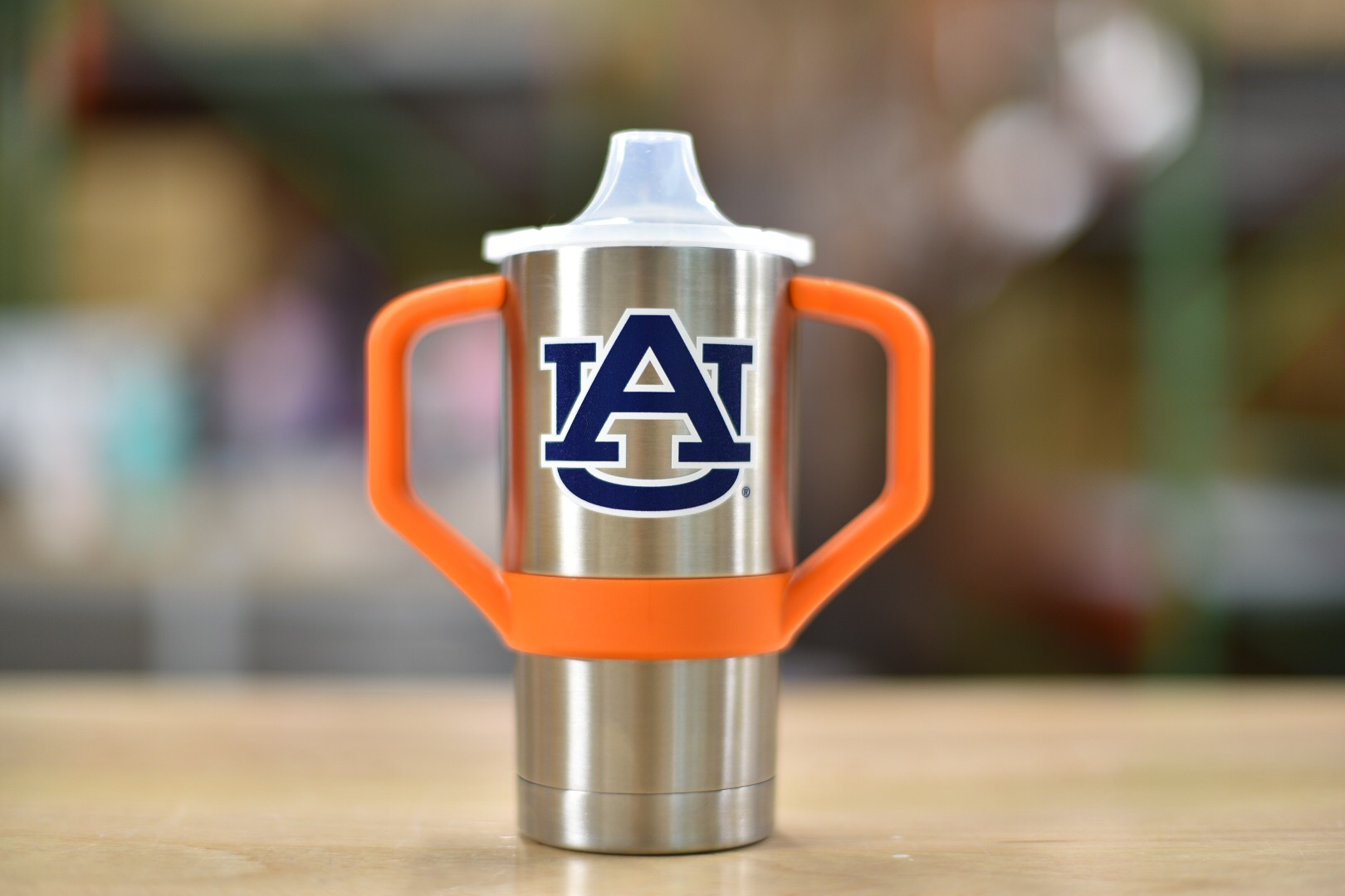 Stainless Steel Sippy Cup Auburn