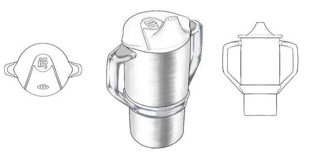 Stainless Steel Sippy Cup Design