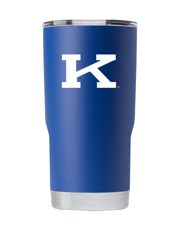 "Kentucky 20 oz Vault ""K"" Blue Tumbler"