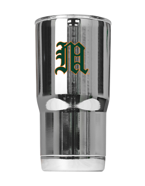 "Miami Hurricanes Vault ""M"" Chrome Tumbler"