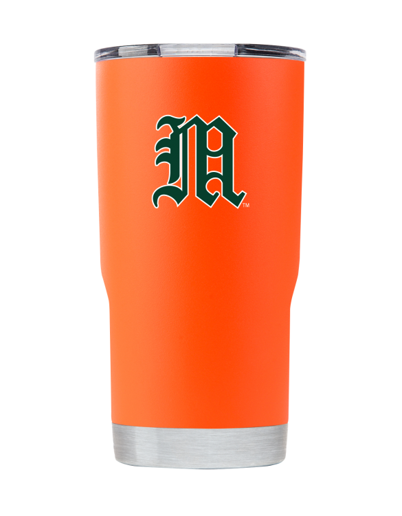 "Miami 20 oz Orange Vault ""M"""