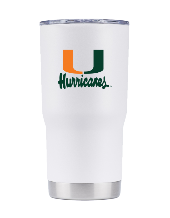 "Miami 20 oz White Vault ""U"""