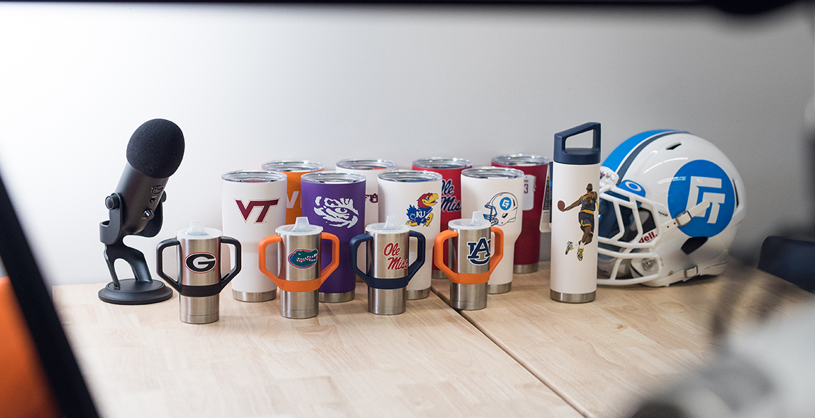 Hi Quality Stainless Steel Tumblers - Carry Your Team