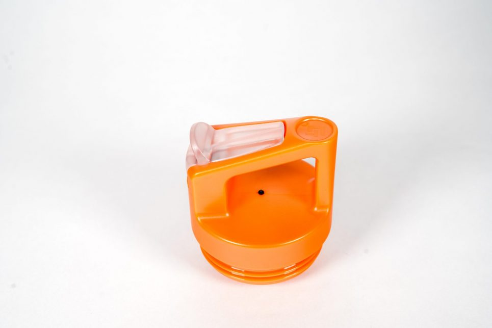 orange straw lid